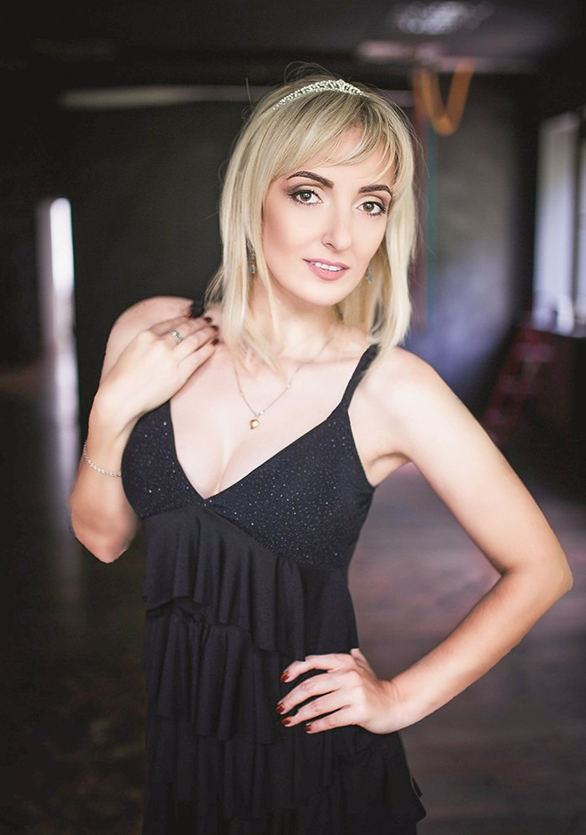 Russian bride Julia from Zaporozhye