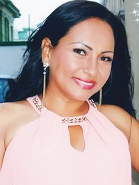 Latin woman Yudy Angelica from Santiago de Cali, Colombia