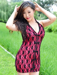 Asian woman Chunhua (Alma) from Fushun, China
