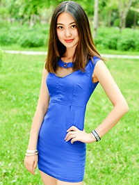 Asian woman Ming (Sharon) from haicheng, China