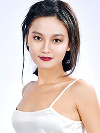 Asian woman Xin from Haicheng, China