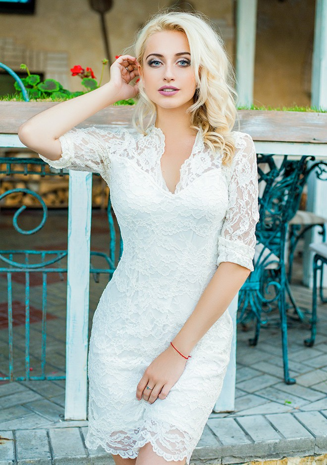 Russian bride Anna from Dnepropetrovsk