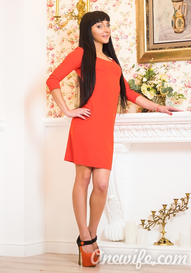 Russian bride Olga from Kharkov