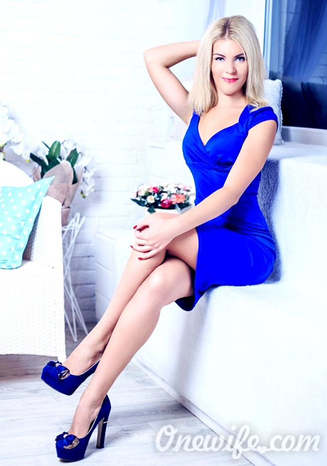 Russian bride Yuliya from Nikopol