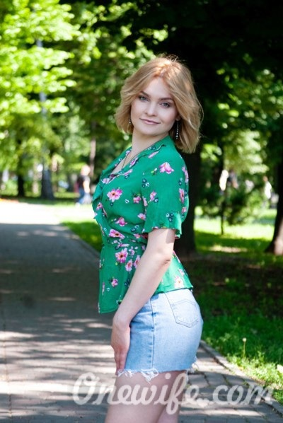 Russian bride Alina from Poltava