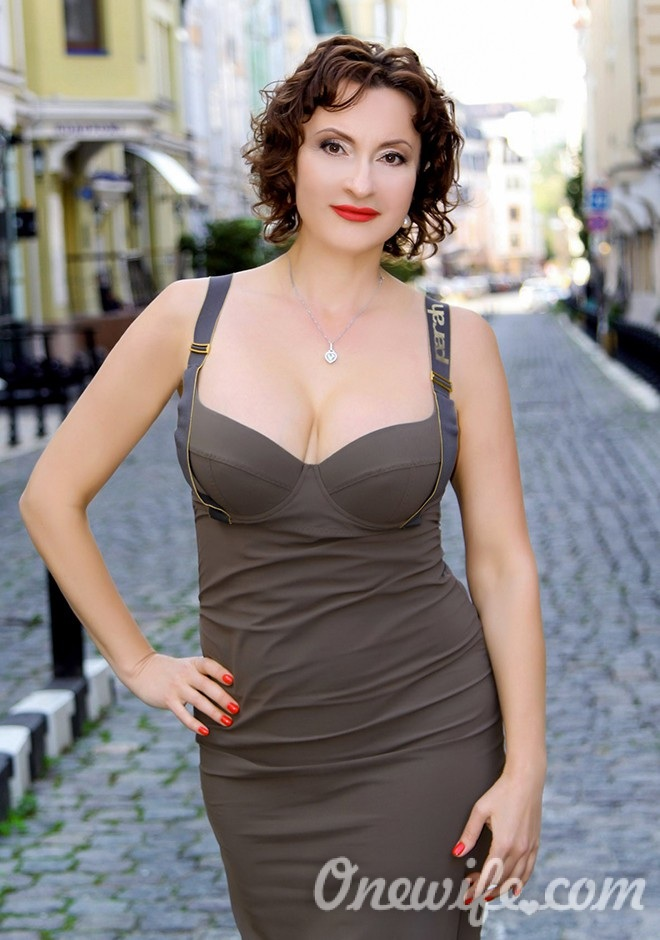 Russian bride Lyudmila from Kiev